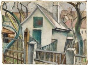 Anita Ree - Dorfansicht -1920