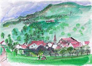 Gammelshausen, county Göppingen, Margret Hofheinz-Döring 1980s