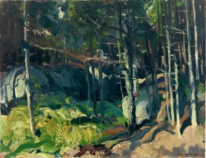 George Bellows - Fern Woods -1913