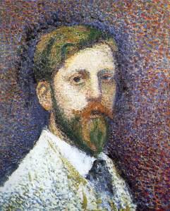 Georges Lemmen - Self-Portrait 1890