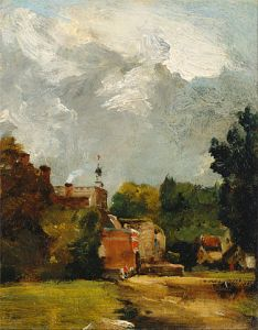John Constable - East Bergholt Church