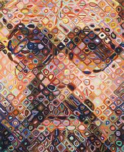 Self-Portrait by Chuck Close 2002-2003