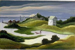 Thomas Hart Benton - Chilmark Landscape