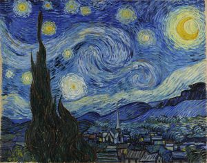 Vincent van Gogh - Starry Night - 1889