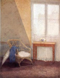 A Corner of the Artists Room in Paris - Gwen John