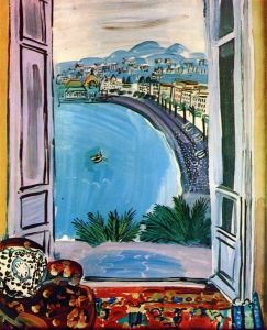 Raoul Duffy - 1953 Window at Nice