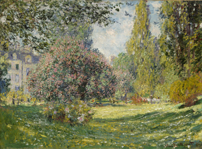 Claude Monet - The Parc Monceau