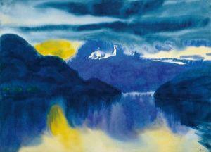 Emil Nolde - Lake Lucerne, 1930