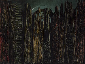 Max Ernst The Forest 1927-1928