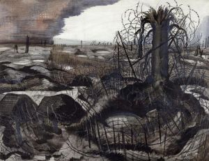 Paul Nash - Wire 1918