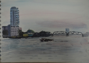 Watercolour Study Chaophraya